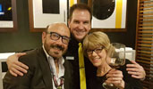 Adrienne King and Xavier Hartsoe, Magician and and World Champion Mixologist