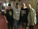 The Wild Bunch.. Kevin Fay, Gary Klar, Ray Dowaliby and Me