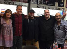 Wishmaster signing: Holly Fields, Andrew Divoff, Robert Kurtzman, Peter Atkins, Me