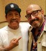 Harry with Danny Trejo
